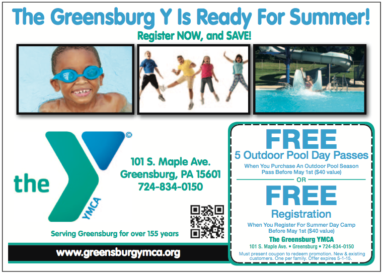 Greensburg YMCA April 2015
